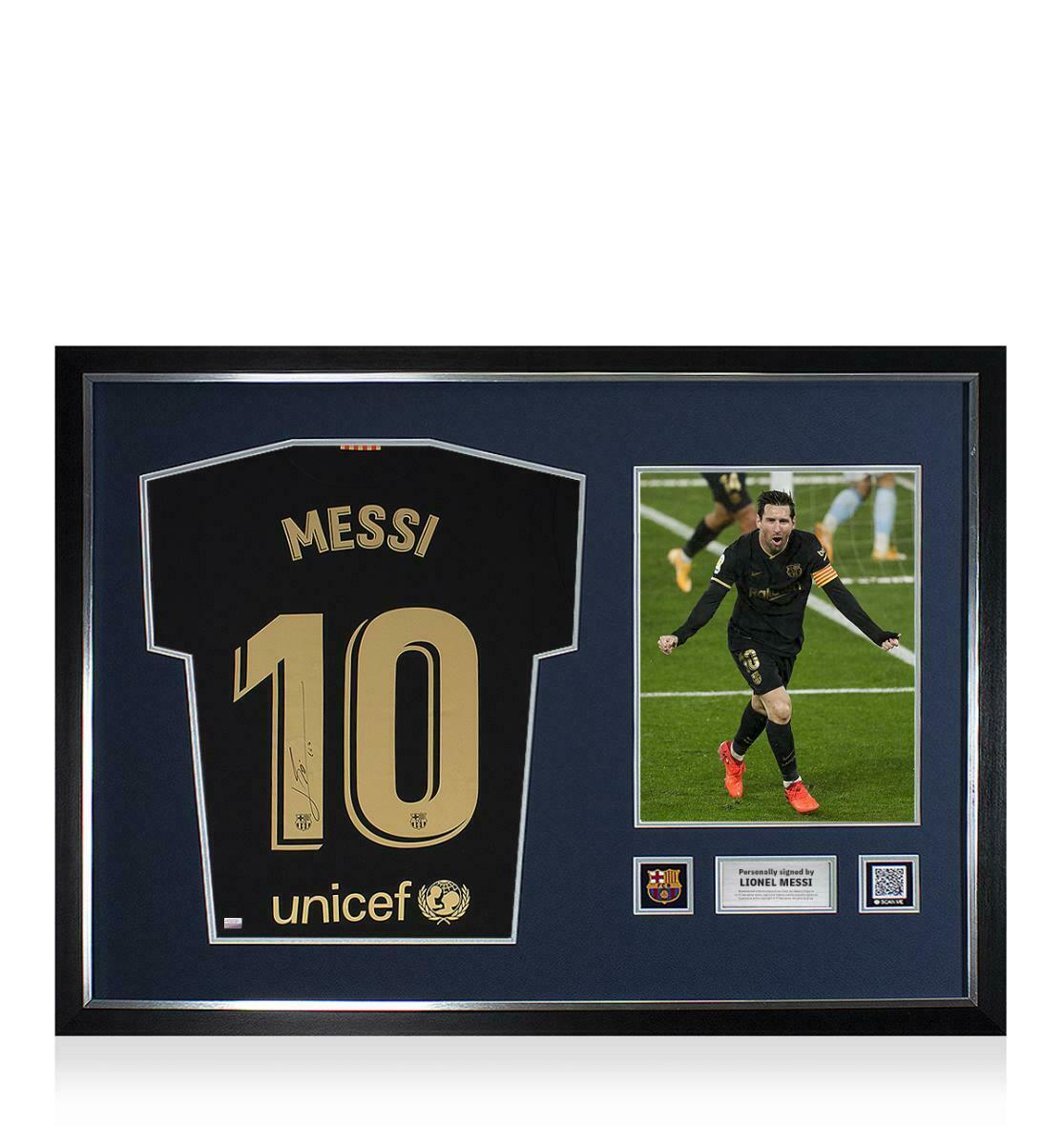 Camiseta firmada por Messi