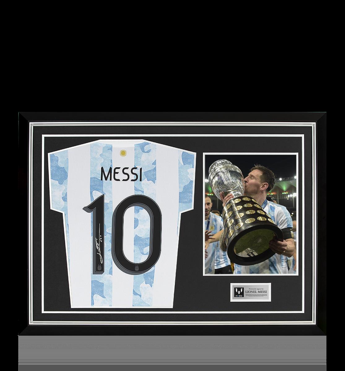 Messi camiseta argentina firmada