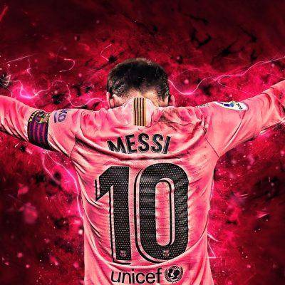 camiseta messi rosa