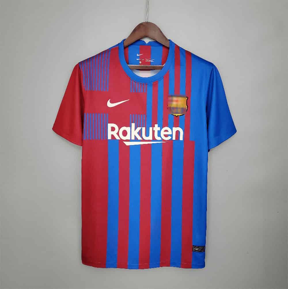 Nueva Camiseta Barcelona 2021-2022 primera equipación Barça