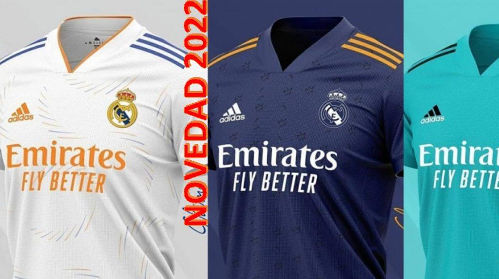 Nueva camiseta Real Madrid 2022