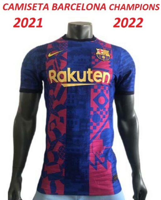 camiseta-Barcelona-champions-2022