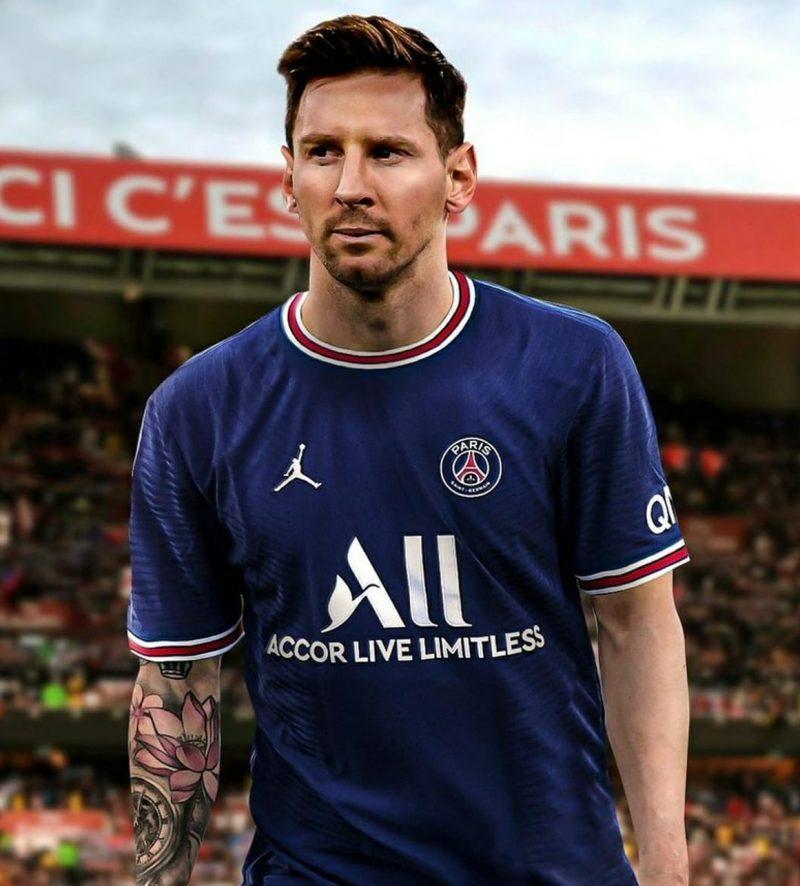 nueva camiseta messi PSG